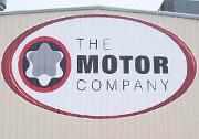 Motor Company Building Decal