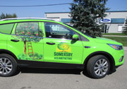 Sommersby Service Car Full Wrap